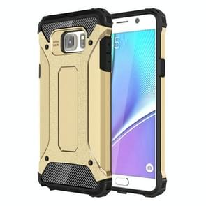 For Samsung Galaxy Note 5 / N920 Tough Armor TPU + PC Combination Case(Gold)