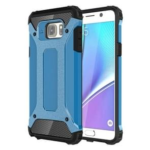 For Samsung Galaxy Note 5 / N920 Tough Armor TPU + PC Combination Case(Blue)