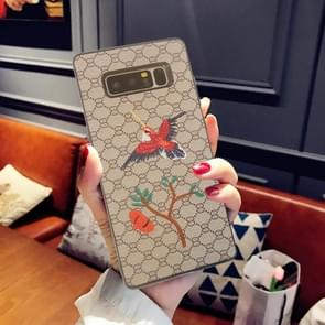 For Samsung Galaxy Note 8 Animal Embroidery Swallow Pattern Protective Back Cover Case