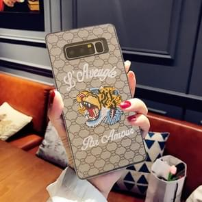 For Samsung Galaxy Note 8 Animal Embroidery Tiger Pattern Protective Back Cover Case