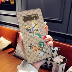 For Samsung Galaxy Note 8 Animal Embroidery Butterfly Pattern Protective Back Cover Case
