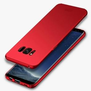 MOFI For Samsung Galaxy S8 Frosted PC Ultra-thin Edge Fully Wrapped Up Protective Case Back Cover(Red)
