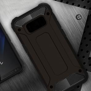For Samsung Galaxy S8 + / G955 Tough Armor TPU + PC Combination Case(Black)