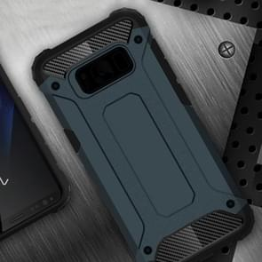 For Samsung Galaxy S8 + / G955 Tough Armor TPU + PC Combination Case(Dark Blue)