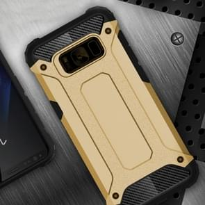 For Samsung Galaxy S8 + / G955 Plus Tough Armor TPU + PC Combination Case(Gold)