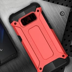 For Samsung Galaxy S8 + / G955 Tough Armor TPU + PC Combination Case(Red)