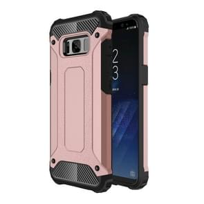 For Samsung Galaxy S8 + / G955 Tough Armor TPU + PC Combination Case(Rose Gold)