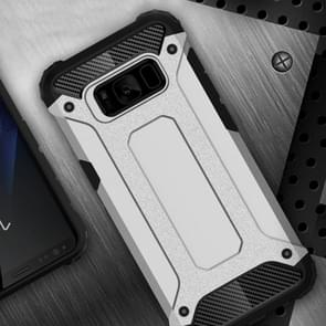 For Samsung Galaxy S8 + / G955 Tough Armor TPU + PC Combination Case(White)