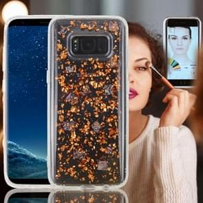 For Samsung Galaxy Note 8 Anti-Gravity Nano-suction Technology Dropproof Sticky Selfie Glitter Sequins Pattern TPU Protective Back Cover Case (Rose Gold)