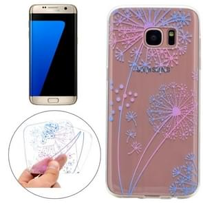 For Samsung Galaxy S7 Edge Colorful Dandelion Pattern TPU Protective Case