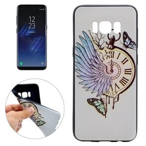 For Samsung Galaxy S8 Pocket Watch Pattern Soft TPU Protective Case