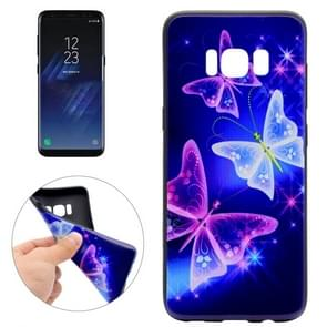 For Samsung Galaxy S8 Starry Sky Buttterflies Pattern Soft TPU Protective Case