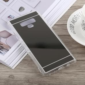 Acrylic + TPU Electroplating Mirror Case for Galaxy Note9 (Black)