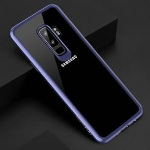 TOTUDESIGN voor Samsung Galaxy S9+ TPU + PC beschermings Back hoesje(blauw)