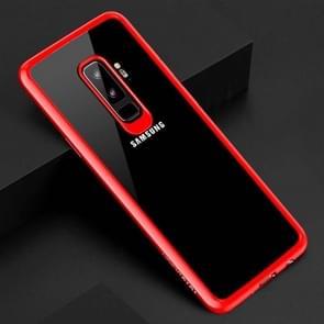 TOTUDESIGN voor Samsung Galaxy S9+ TPU + PC beschermings Back hoesje(rood)