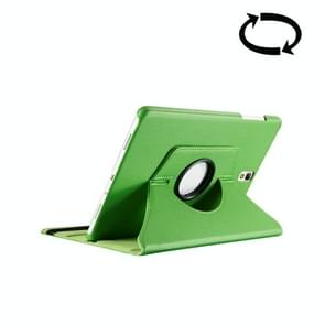 For Samsung Galaxy Tab S3 9.7 / T820 Litchi Texture 360 Degree Rotatable Leather Case with Sleep / Wake-up Function & Holder(Green)