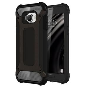 For Samsung Galaxy C5 / C500 Tough Armor TPU + PC Combination Case(Black)