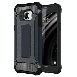 For Samsung Galaxy C5 / C500 Tough Armor TPU + PC Combination Case(Navy Blue)