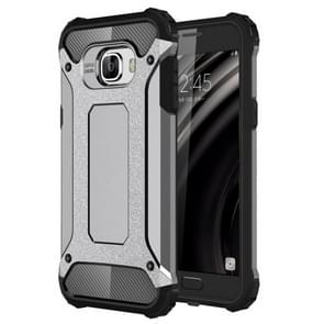 For Samsung Galaxy C5 / C500 Tough Armor TPU + PC Combination Case(Grey)