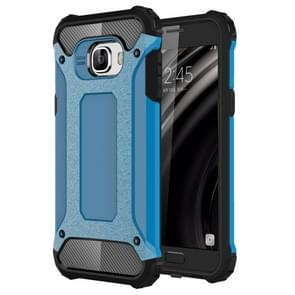 For Samsung Galaxy C5 / C500 Tough Armor TPU + PC Combination Case(Blue)
