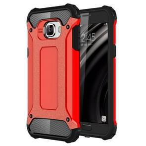 For Samsung Galaxy C5 / C500 Tough Armor TPU + PC Combination Case(Red)