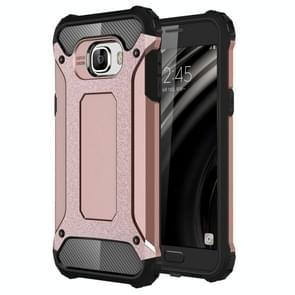 For Samsung Galaxy C5 / C500 Tough Armor TPU + PC Combination Case(Rose Gold)