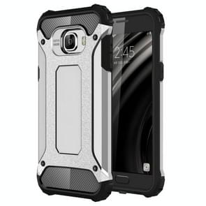 For Samsung Galaxy C5 / C500 Tough Armor TPU + PC Combination Case(Silver)