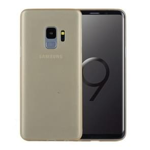 Voor Samsung Galaxy S9 ultra-dun PP beschermings Back hoesje(Goud)