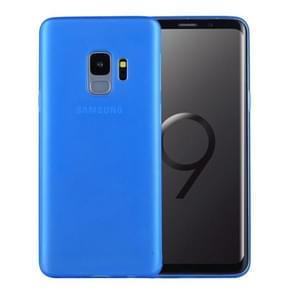 Voor Samsung Galaxy S9 ultra-dun PP beschermings Back hoesje(blauw)