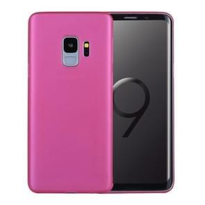 Voor Samsung Galaxy S9 ultra-dun PP beschermings Back hoesje(hard roze)