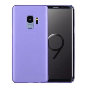 Voor Samsung Galaxy S9 ultra-dun PP beschermings Back hoesje(paars)