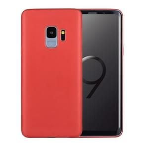 Voor Samsung Galaxy S9 ultra-dun PP beschermings Back hoesje(rood)