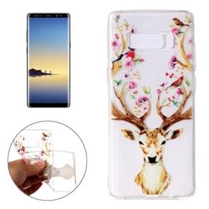 For Samsung Galaxy Note 8 Cervus Nippon Pattern TPU Protective Case