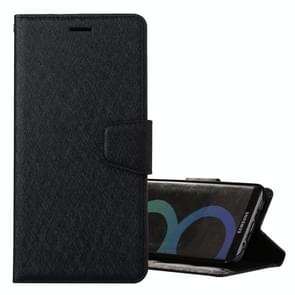 For Samsung Galaxy S8 Silk Texture Horizontal Flip Leather Case with Holder & Card Slots & Wallet & Photo Frame (Black)