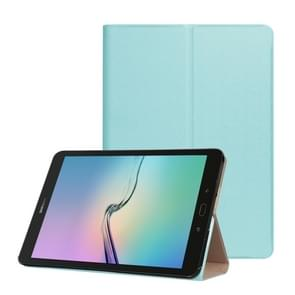 For Samsung Galaxy Tab S3 9.7 inch T820 / T825 Golden Stone Series PU Leather Stand Case Cover Shield(Blue)