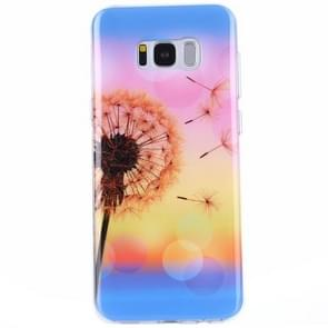 For Samsung Galaxy S8 + / G9550 Sunset Dandelion Pattern IMD Workmanship TPU Protective Back Cover Case