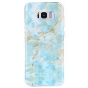 For Samsung Galaxy S8 + / G9550 Emerald Green Marble Pattern IMD Workmanship TPU Protective Back Cover Case