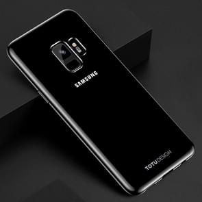 TOTUDESIGN Jane Series voor Samsung Galaxy S9 Electroplating TPU beschermings Back hoesje (zwart)