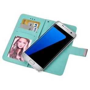For Samsung Galaxy S7 / G930 Oracle Texture Separable Horizontal Flip Leather Case with Card Slots & Wallet & Photo Frame & Lanyard (Green)