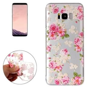 For Samsung Galaxy S8 Roses Pattern TPU Protective Case