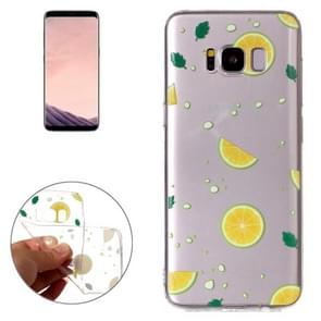 For Samsung Galaxy S8 Navel Orange Pattern TPU Protective Case