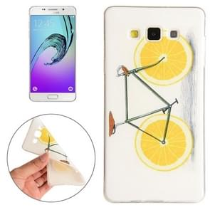 For Samsung Galaxy A5 / A500F Lemon Pattern TPU Protective Case