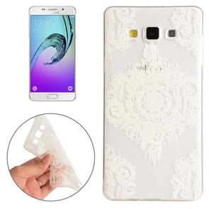 For Samsung Galaxy A5 / A500F Flower Pattern TPU Protective Case