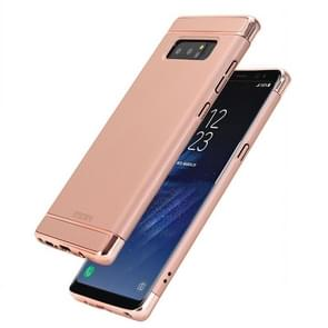 MOFI For Samsung Galaxy Note 8 Three - paragraph Shield Full Coverage Protective Case Back Cover (Rose Gold)