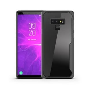 Transparent PC + TPU Full Coverage Shockproof Protective Case for Galaxy Note9 (Black)