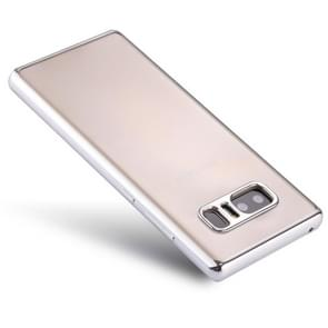 For Samsung Galaxy Note 8 Electroplating Side TPU Protective Back Cover Case (Silver)
