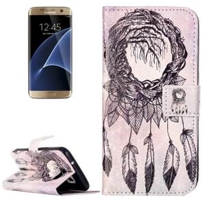 For Samsung Galaxy S7 / G930 Rilievo Carving Windbell Pattern Horizontal Flip Leather Case with Magnetic Buckle & Holder & Card Slots & Wallet