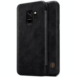 NILLKIN voor Samsung Galaxy S9 Crazy Horse structuur horizontaal Flip lederen hoesje met opbergruimte voor pinpassen(zwart)