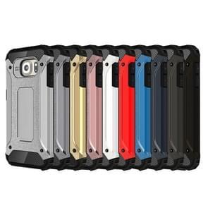 For Samsung Galaxy S6 / G920 Tough Armor TPU + PC Combination Case (Silver)