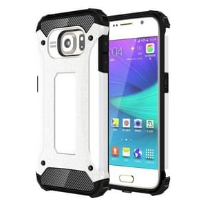For Samsung Galaxy S6 / G920 Tough Armor TPU + PC Combination Case (White)